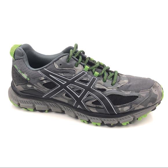 new product 8b6cf 3fd13 Asics Gel Scram 3 Camouflage Trail Running Shoes